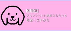 「BINGO」の遊び方