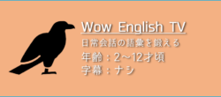 「WOW ENGLISH TV」の楽しみ方