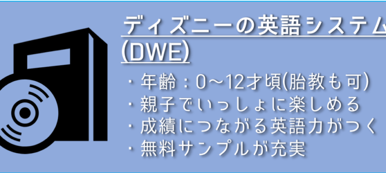 ディズニーの英語システム(DWE)
